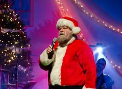 Santa and Frank Daly