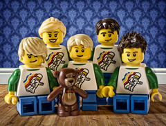 The Family That Plays Together... (Digger Digger Dogstar) Tags: family toy toys lego minifig minifigure