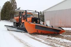 Town of Litchfield Mack RM (RyanP77) Tags: snow ny truck town upstateny bulldog v series p blade plow removal mack gmc oshkosh snowplow litchfield sander frink rm plower herkimercountyny