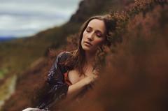 Anna (Ella Ruth) Tags: sleeping portrait woman fashion 50mm photographer shropshire patterns 14 naturallight hills cheekbones brunette asleep hillside kaftan eyesclosed eyesshut patterned shropshirehills nikond90 ellaruth