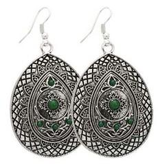 Glimpse of Malibu Green Earrings P5810-5