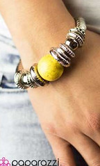 Sunset Sighting Yellow Bracelet K1 P9440-5