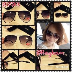 #PhotoGrid แว่นกันแดด ® Rayban  กรอบปิด มี 2 สีสวย ไฮโซมากๆ ใส่ได้ทั้งหญิงและชาย ทรงเก็บหน้า ขาสปริง*** กัน uv400  Price : 1,080.-///Free EMS  Code : 005KK  Line. : moobbmgogo  FB : http://www.facebook.com/nadpoponline  KBANK,SCB,KTB,TMB