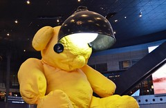 Muppet (saadounb10) Tags: yellow airport muppet doha qatar hammad
