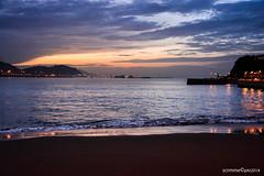 Atardecer - Getxo (scrmme©pht) Tags: sunset sea españa love beach night atardecer noche mar spain amor playa bilbao basque vasco vizcaya bilbo getxo bizcaia euskalerria