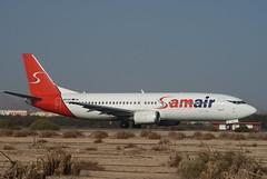 OM-SAA (stiv.white1975) Tags: airport spain fuerteventura 400 boeing 737 planespotting samair corfuandfuerte