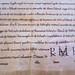 Medieval German handwriting