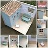 Bear's collage (*Joyful Girl ♥ Gypsy Heart *) Tags: pink blue village country barbie hazel blogged blythe 16 chic etsy diorama shabby roombox maileg playscale joyfulgirlgypsyheart
