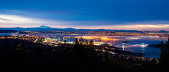 1/15 (.WFJ) Tags: longexposure pink red fog vancouver clouds sunrise bc britishcolumbia lookout cypress inversion breakfasttelevision beautycity