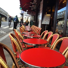 French side walk cafe! #upsticksandgo #cafe #paris #france #culture #sidewalkcafe #michfrost #travel #travelgram #travellingtheworld #michfrost (UpSticksNGo) Tags: travel paris france cafe culture tables sidewalkcafe travellingtheworld travelgram upsticksandgo michfrost