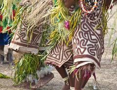 Dancing tapa skirts (Sven Rudolf Jan) Tags: dancers traditional tapa papuanewguinea singsing tufi