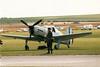 Caudron JN-760-C1 replica F-WNJY Jean Noan Flying Legends Duxford 11-07-99 (Richard.Crockett 64) Tags: fighter 1999 replica airshow ww2 duxford cambridgeshire worldwartwo imperialwarmuseum flyinglegends caudron armeedelair fwnjy jn760c1 jeannoan