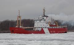 Griffon (Hear and Their) Tags: ice river coast ship detroit guard canadian breaker icebreaker amherstburg griffon