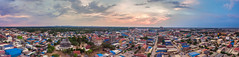My town in 180 degree (Piaklim) Tags: sky panorama cloud landscape town cambodia aerial kh drone phantom4 dji banteaymeanchey krongpoipet