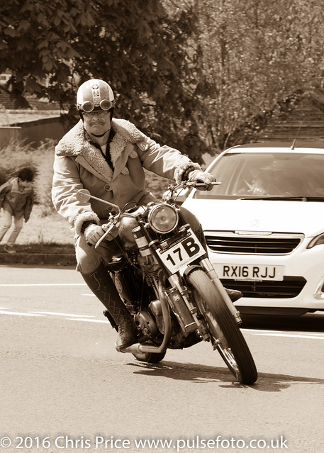 Fleet Lions Bike Rally 2016 5 x7 Sepia