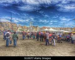 Photo accepted by Stockimo (vanya.bovajo) Tags: old city travel vacation people holiday men tourism port marina french harbor town marseille women market harbour famous crowd sightseeing landmark tourist tourists stands vieux iphone iphonegraphy stockimo
