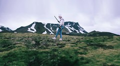 Where The Wild Things Are part 1 (Rachel.Rosemarie) Tags: selfportrait mountains me nature girl iceland moss nikon nikond610