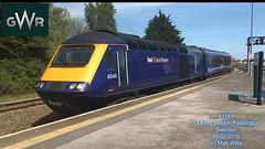 GREAT WESTERN RAILWAY 43143 DEPARTING  SWINDON 04052016 (MATT WILLIS VIDEO PRODUCTIONS) Tags: great swindon railway western departing 43143 04052016