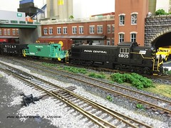 PC 6805, 5-05-2016 (jackdk) Tags: pc model modelrailroad alco penncentral roadswitcher rsd4 rsd45