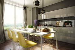Living interieur 7 (Martin-Klein) Tags: living 3d cg dof bokeh interieur visualisation