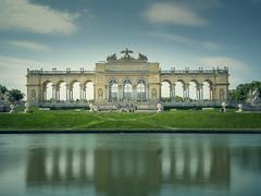 Gloriette Wien (armin.halm) Tags: schnbrunn vienna wien park castle water wasser schloss gloriette