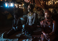 Hamer tribe teenage girl called a uta and her future stepfather who keeps her 6 months in a hut, Omo valley, Turmi, Ethiopia (Eric Lafforgue) Tags: africa red people orange house color girl vertical horizontal hair outdoors photography necklace adult african tribal redclay indoors hut blackpeople omovalley tradition ethiopia tribe ochre ethnic hairstyle 2people twopeople pigment hamar developingcountry hamer lifestyles hornofafrica ethnology ethiopian eastafrica abyssinia realpeople blackskin wifetobe tobemarried turmi africanethnicity indigenousculture africanculture ethnicgroup omotic blackethnicity ethiopianethnicity ethio161420