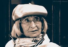 Portrait (Natali Antonovich) Tags: portrait paris france monochrome glasses lifestyle style stare reverie wingedparis vigorousitems