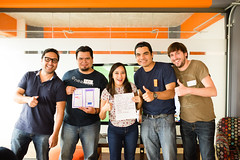 """""""Cualquiera puede disear"""" HCD Workshop (Nearsoft) Tags: green mexico mexicocity software development outsourcing hcd cdmx humancentereddesign uxteam nearsoft"""