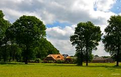 Holland landscape Forest (JaapCom) Tags: trees holland dutch farmhouse landscape landschaft wezep jaapcom