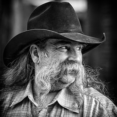 Howdy (Jim-Mooney) Tags: street portrait people blackandwhite bw white black monochrome photography mono blackwhite fuji candid monotone kansascity crossroads fujinon xt1 50140mm