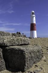 Portland Stone (And The Lighthouse) (MickyB1949) Tags: england lighthouse stone portland coast bluesky dorset portlandbill canon60d