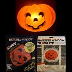 1995 pumpkin (the ghost in you) Tags: halloween jackolantern pumpkin pumpkins october fall autumn decorations halloweenblowmold blowmold