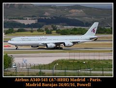 El triple H (Powell 333) Tags: madrid espaa eos airport spain aircraft air 7d airbus powell airlines avin aeropuerto airbusa340 avion a340 qatar aviones 340 barajas aena 541 lemd airbus340 a340541 madridbarajas airbusa340541 eos7d canoneos7d qataramiriflight amiriflight a7hhh qataramiri