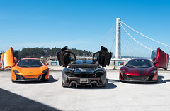 Leading Edge Keep Back. (JacobSchlobohm) Tags: auto cars car photography treasureisland automotive mclaren baybridge bayarea autos p1 carporn automotivephotography mclarenp1