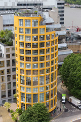 Residential Cylinder (Mikepaws) Tags: city uk greatbritain england urban london architecture landscape europe cityscape unitedkingdom britain capital southbank citycentre centrallondon greaterlondon
