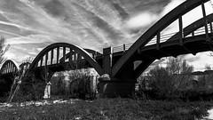 Puente Duero Nuevo (Juaberna) Tags: bridge blanco architecture puente arquitectura nikon y negro d610 2485mm vrii