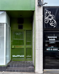 public toilets wiped out in parts of uk (Harry Halibut) Tags: green shop gate south sheffield yorkshire images doorway allrightsreserved furnival sheffieldbuildings colourbysoftwarelaziness imagesofsheffield sheffieldarchitecture 2016andrewpettigrew