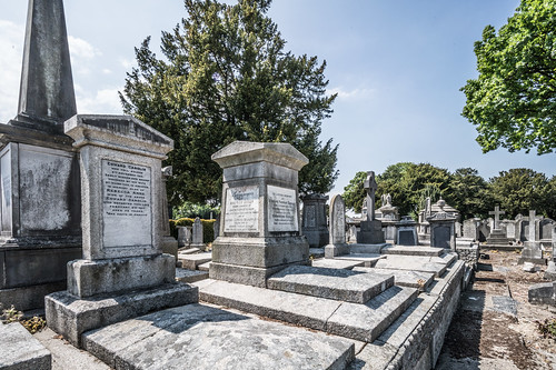 MOUNT JEROME CEMETERY AND CREMATORIUM IN HAROLD'S CROSS [SONY A7RM2 WITH VOIGTLANDER 15mm LENS]-117073