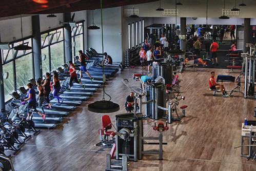 EPTI Campus 800 sq. metre gym floor