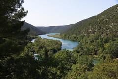 Paisaje en Krka (anvaliri) Tags: park blue naturaleza verde green nature azul ro canon river landscape croatia paisaje national krka hrvatska 1585