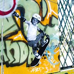 Ruedala (D11 Urbano) Tags: boy art girl poster stencil arte venezuela nios caracas urbano venezolano arteurbano d11 streetartvenezuela artvenezuela d11streetart arteurbanovenezuela d11art d11urbano