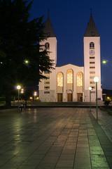 St James Church, Medjugorje, Herzegovina (davpen) Tags: church night structure herzegovina conditions medjugorje