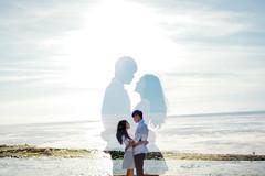 () Tags: blue sea sky love beach canon couple doubleexposure sunny amethyst lovely steveston