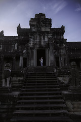 The Seeker (Mr. Anthony Morris) Tags: angkor angkorwat temple ancient siemreap siem reap cambodia travel world worldtravels seetheworld girl explore seek adventure wonder sky blue cloud stairs stone epic cool