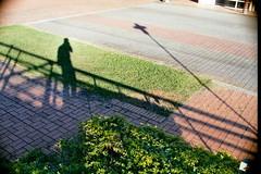Negative21 (Tony_Tsai) Tags: shadow self 35mm nikon alone snap f90 shade dx fujicolor 100