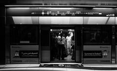 ACA_235 (www.arcigaandy.com) Tags: blackandwhitestreetphotography blackandwhite metrostation metrolife dubaimetrostation flickr fujifilm fujifilmxe2 fujifilm18mmf2 fuujifilm18mmf2r creativecommons monochrome