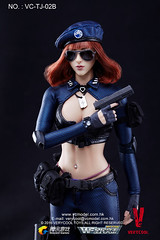 VERYCOOL TOYS VCF-TJ02 WeFire Sniper Little Sister - TJ02B Brown Hair 08 (Lord Dragon ) Tags: hot female toys actionfigure doll verycool onesixthscale 16scale 12inscale