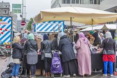 Rotterdam (vk2gwk - Henk T) Tags: rotterdam market blaak people candid