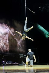 Cirque de Soleil OVO (Kristina_Hernandez) Tags: ariel insects acrobats straps thewell ovo bonsecours cirquedesoleil greenvillesc yeahthatgreenville bonsecourswellnessarena