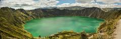 Quilotoa (leoleamunoz) Tags: naturaleza lake nature water landscape volcano quito ecuador paisaje panoramica volcn latinoamrica